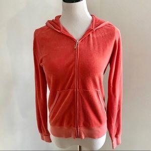 Vintage Juicy Couture Hoodie Sweatshirt Sz XL